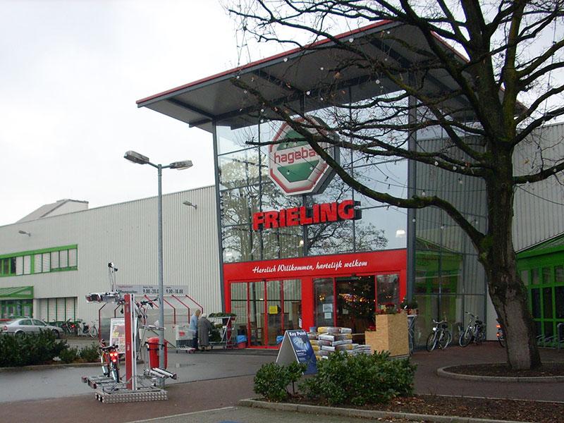 Unternehmen jobb rse hagebau frieling for Hagebaumarkt carport